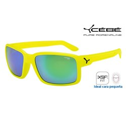 Cebe Dude Neon Yellow / 1500 Green Flash Mirror (CBDUDE8)