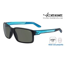 Cebe Dude Matt Black Crystal Blue / 1500 Grey (CBDUDE4)