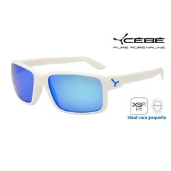 Cebe Dude Matte White / 1500 Grey Flash Mirror Blue (CBDUDE6)