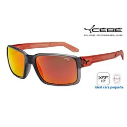 Cebe Dude Crystal Grey Pink / 1500 Grey Flash Mirror Orange (CBDUDE9)