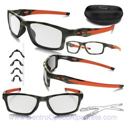 Crosslink MNP Matte Green Tortoise - Orange (OX8090-07)