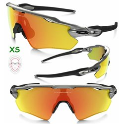 Radar EV XS Path Silver / Fire Iridium Polarized (OJ9001-08)