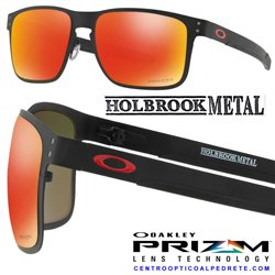 Holbrook Metal Matte Black / + Red Iridium (OO4123-02)