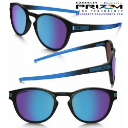 Latch Fade Collection Matte Black / Sapphire Iridium Polarized (OO9265-18)
