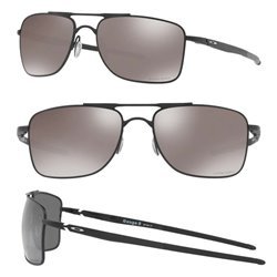 Gauge 8 Matte Black / Prizm Black Polarized (OO4124-02)