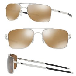 Gauge 8 Polished Chrome / Tungsten Iridium Polarized (OO4124-05)