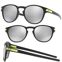 Latch Valentino Rossi Matte Black / Chrome Iridium (OO9265-21)