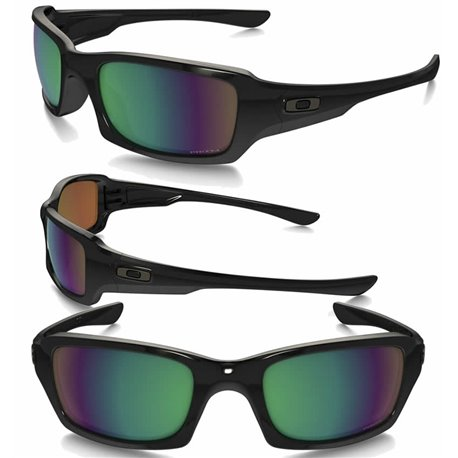70c46dda3c Sunglasses Fives Squared Polished Black   Prizm Shallow Water Polarized  (OO9238-18)
