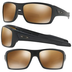 Turbine Matte Black / Prizm Tungsten Polarized (OO9263-40)