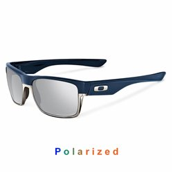 TwoFace Matte Navy / Chrome Iridium Polarized (OO9189-15)