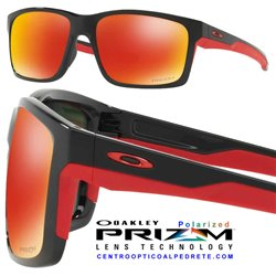 Mainlink Polished Black / Prizm Ruby Polarized (OO9264-35)