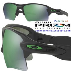 Flak 2.0 XL Matte Black / Prizm Jade Polarized (OO9188-77)