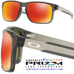 Holbrook Mix Grey Smoke / Prizm Ruby Polarized (OO9384-07)