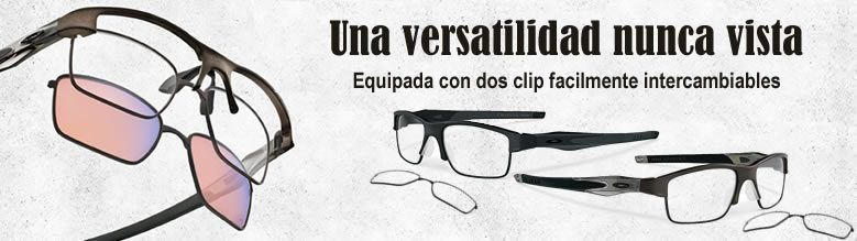 Oakley Crosslink Switch con lentes intercambiables