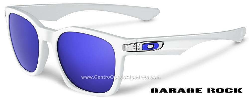 103687ce24 Oakley Oakley Garage Rock Polished White   Violet Iridium (OO9175-02)