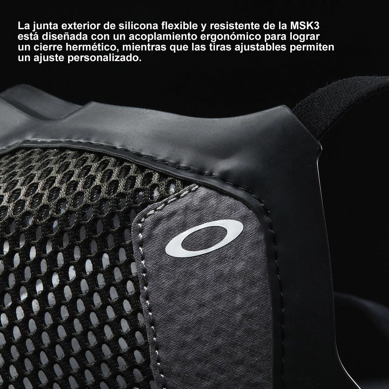 Oakley Msk3 junta silicona ideal para evitar el vaho