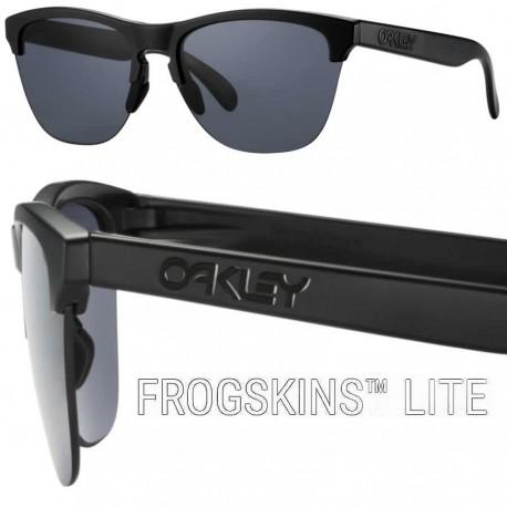 Frogskins Lite Matte Black / Grey (03-290)