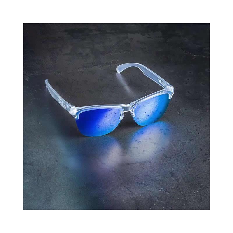 6d1e8b60477 Sunglasses Frogskins Lite Matte Clear   Violet Iridium (OO9374-03)