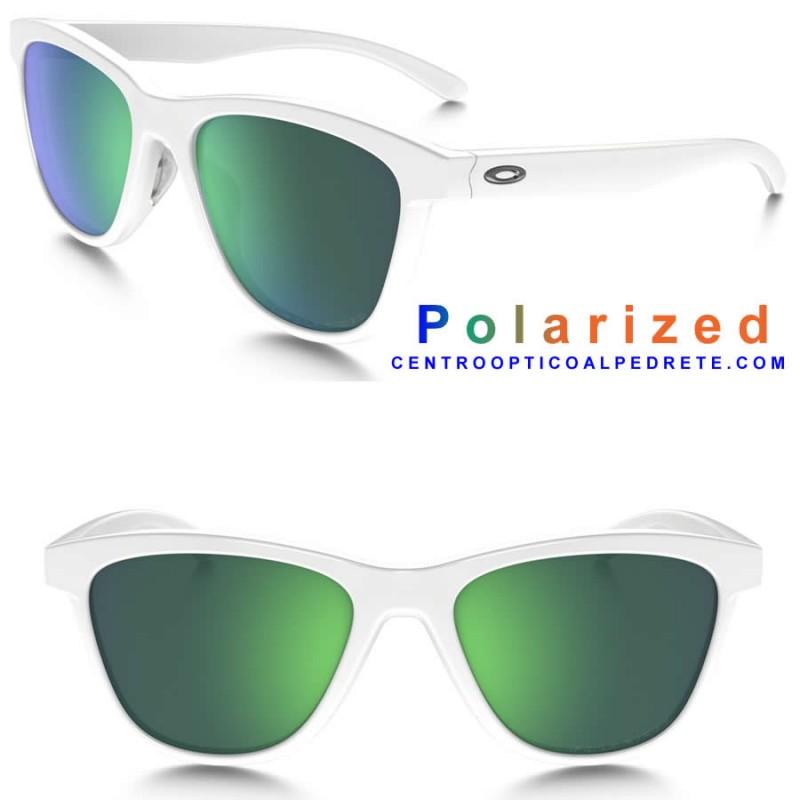f654878db31 Sunglasses Oakley MoonLighter Polished White   Jade Iridium ...