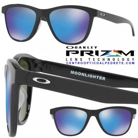 MoonLighter Polished Black / Prizm Sapphire (OO9320-16)