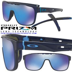 CrossRange Shield Matte Translucen Blue / Prizm Sapphire Iridium (OO9387-05)