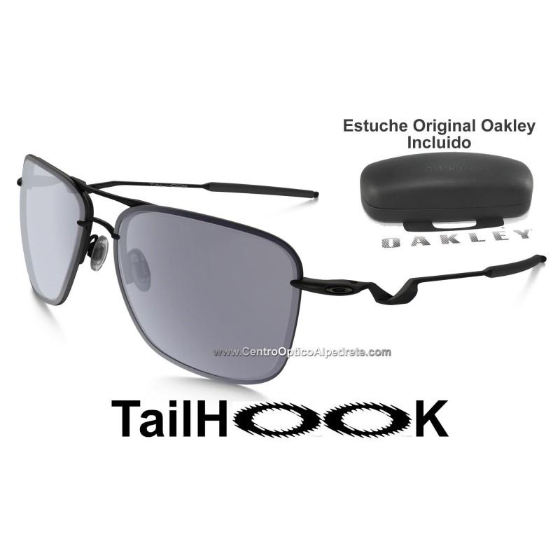 df1d083341 Oakley Sunglasses TailHook Satin Black   Grey (OO4087-01)
