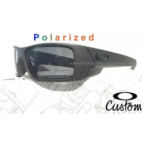 Gascan Custom Steel / Grey Polarized (OO9014-6386)