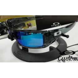 Gascan Custom Crystal Black / Sapphire Iridium (OO9014-6395)