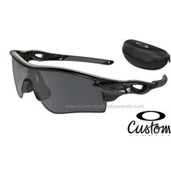 RadarLock Path Custom Polished Black / Black Iridium Polarized (OO9181-6400)