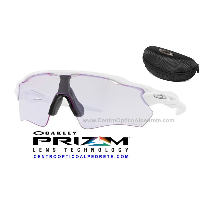 Sunglasses Oakley Radar EV Path Polished White   Prizm Low Light (OO9208-65) e8399c6296