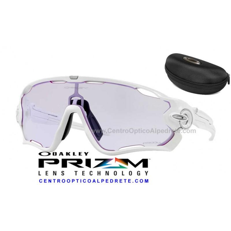 579e95d4db56b Oakley sport sunglasses Jawbreaker Polished White   Prizm Low Light  (OO9290-32)