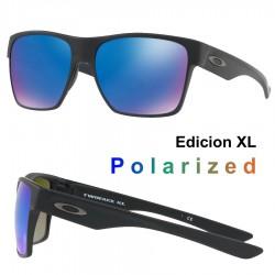 TwoFace XL Matte Black / Sapphire Iridium Polarized (OO9350-05)