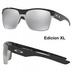 TwoFace XL Polished Black / Chrome Iridium (OO9350-07)