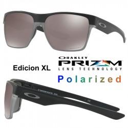 TwoFace XL Matte Black / Prizm Black Polarized (OO9350-1059)