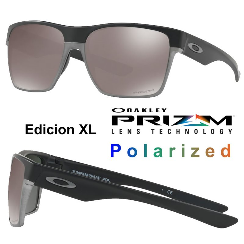 24d08529445 Oakley Sunglasses TwoFace XL Matte Black   Prizm Black Polarized ...