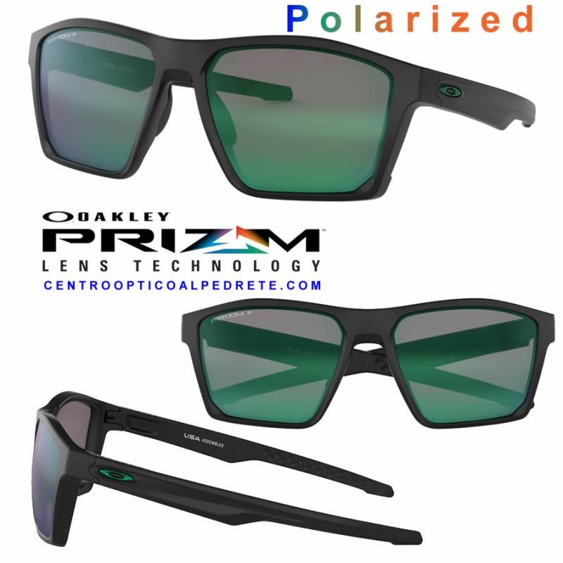 747c1100e Oakley Sunglasses TargetLine Matte Black / Prizm Jade Polarized ...