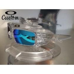 Gascan Custom Polished Clear / Sapphire Iridium (OO9014-6464)