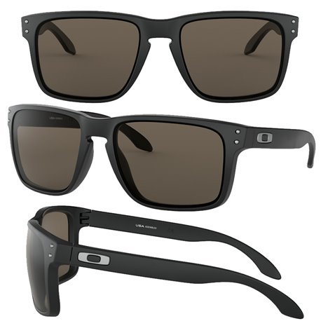 Holbrook XL Matte Black / Warm Grey (OO9417-01)