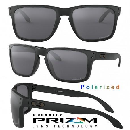 Holbrook XL Matte Black / Prizm Black Polarized (OO9417-05)