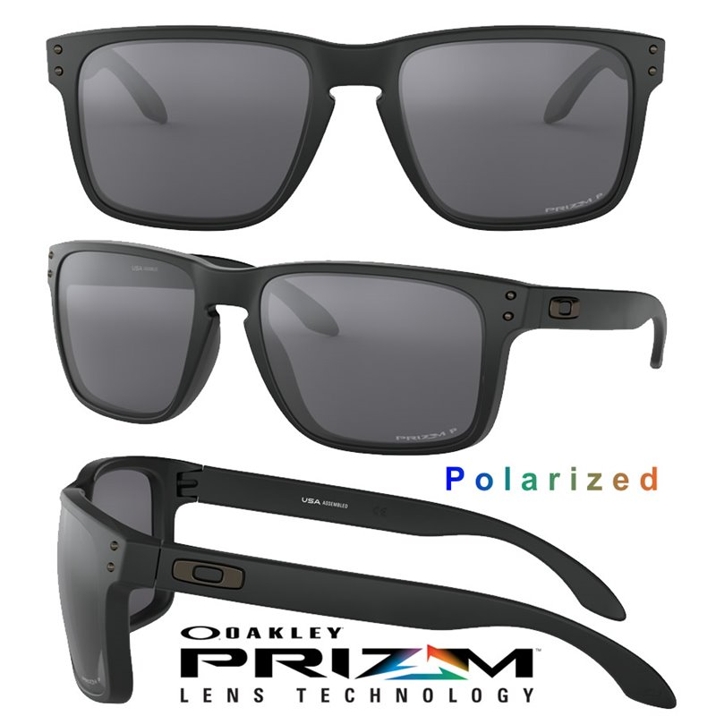 fb27ae2fb22 Gafa Oakley Holbrook XL Matte Black   Prizm Black Polarized (OO9417 ...