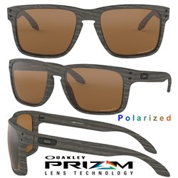 Holbrook XL Woodgrain / Prizm Tungsten Polarized (OO9417-06)