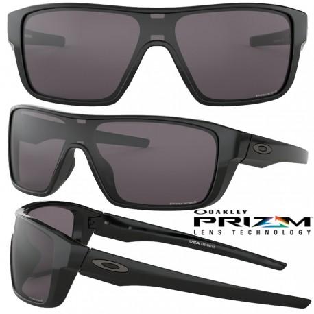 Straightback Polished Black / Prizm Grey (OO9411-01)