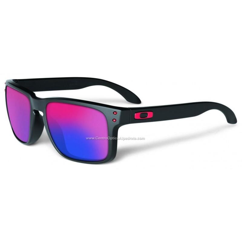 2e8456eb1f Sunglasses Holbrook Matte Black / + Red Iridium (OO9102-36) Holbrook ...