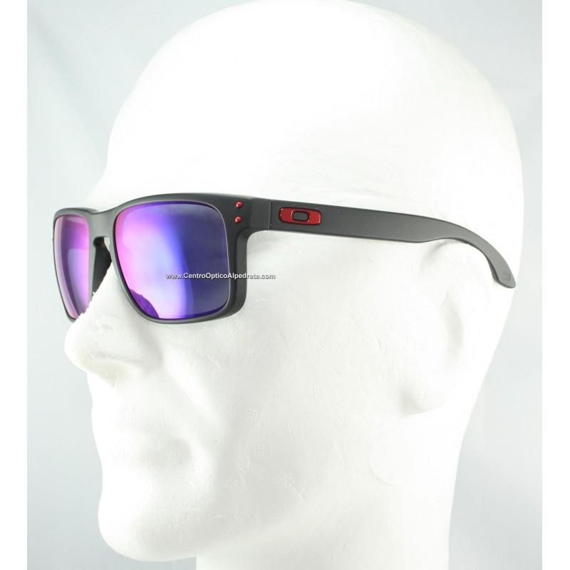 2015007976 Sunglasses Holbrook Matte Black   + Red Iridium (OO9102-36) Holbrook ...