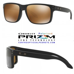 Holbrook Matte Black / Prizm Tungsten Polarized OO9102-D7