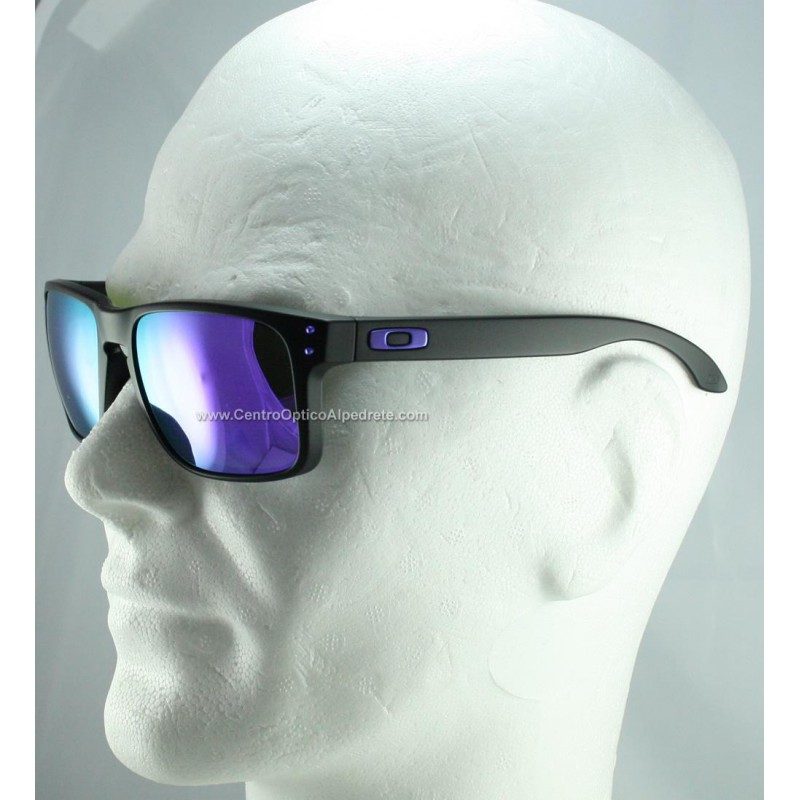 090bce96f35 ... Gafas de sol Oakley Holbrook Julian Wilson Matte Black   Violet Iridium  (OO9102-26 ...
