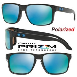 Holbrook Polished Black / Prizm Deep Water Polarized (OO9102-C1)