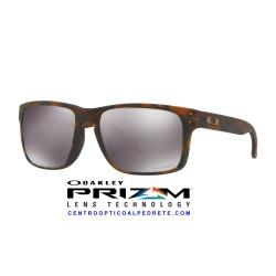 Holbrook Matte Brown Tortoise / Prizm Black (OO9102-F4)