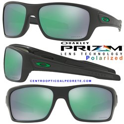 Turbine Matte Black / Prizm Jade Polarized (OO9263-45)