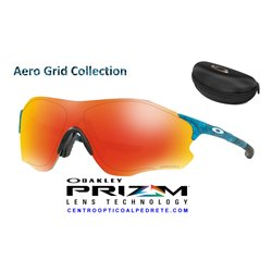 EVZero Path Aero Grid Sky / Ruby Iridium (OO9308-22)